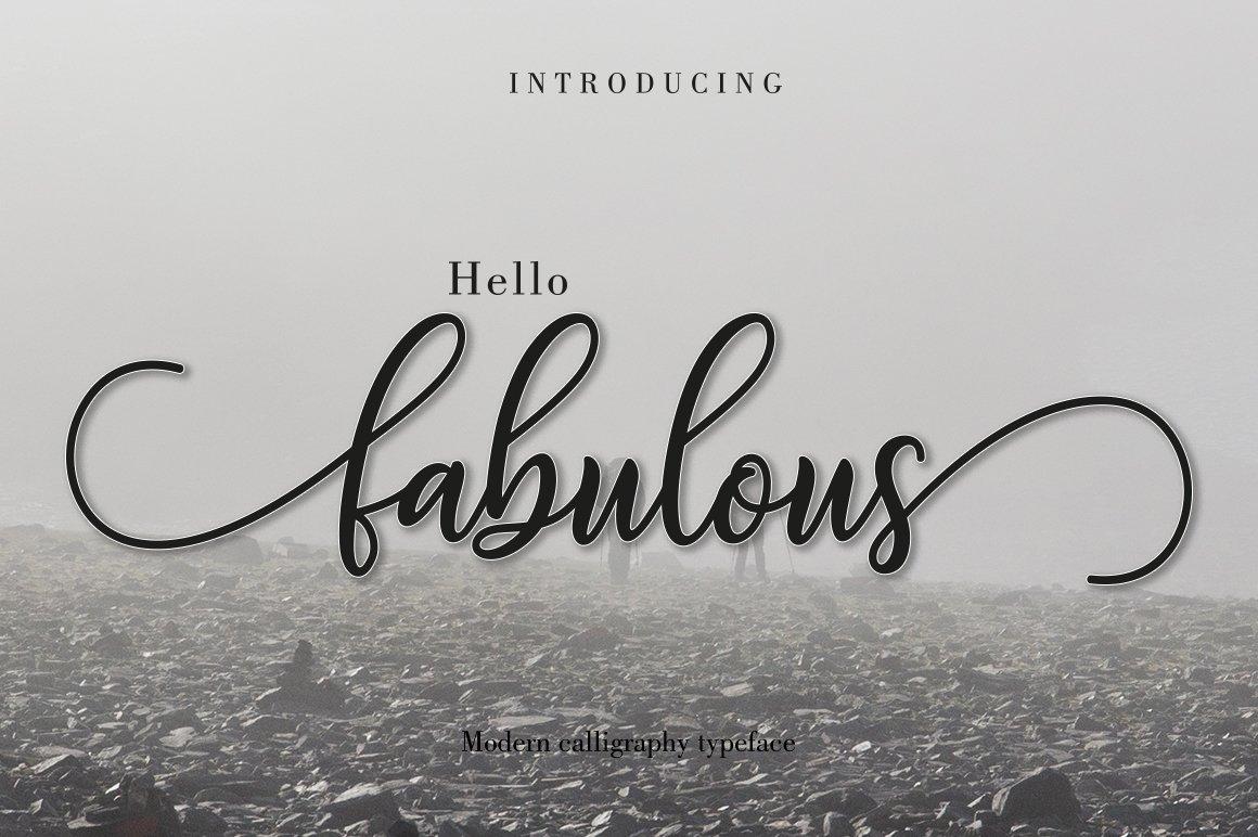 Fabulous-Font