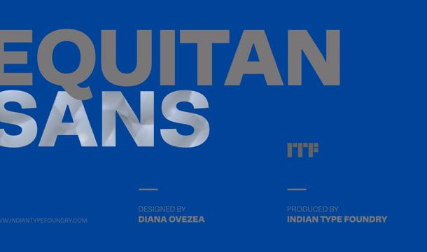 Equitan Sans Font Family