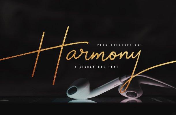 Harmony Script Font
