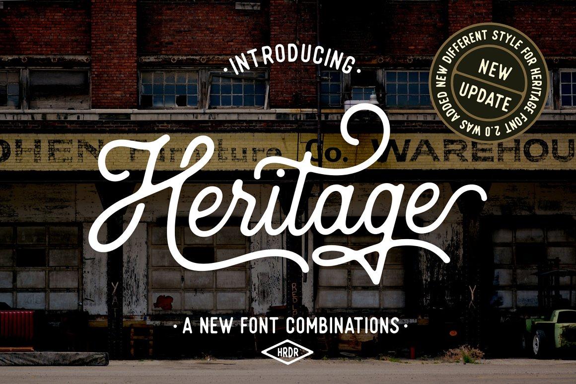 Heritage-Font