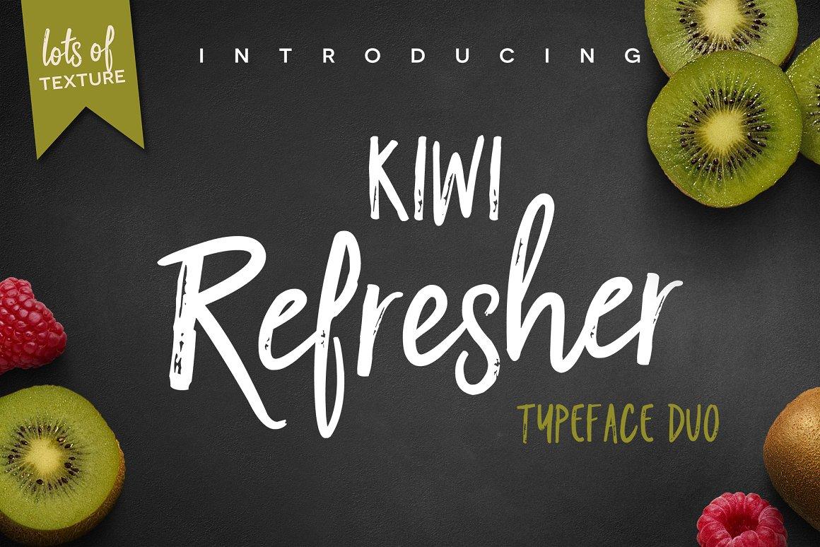 Kiwi-Refresher-Font