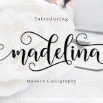 Madelina Calligraphy Font