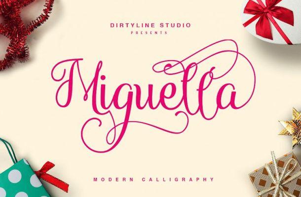 Miguella Script Font