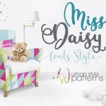 Miss Daisy Script Font