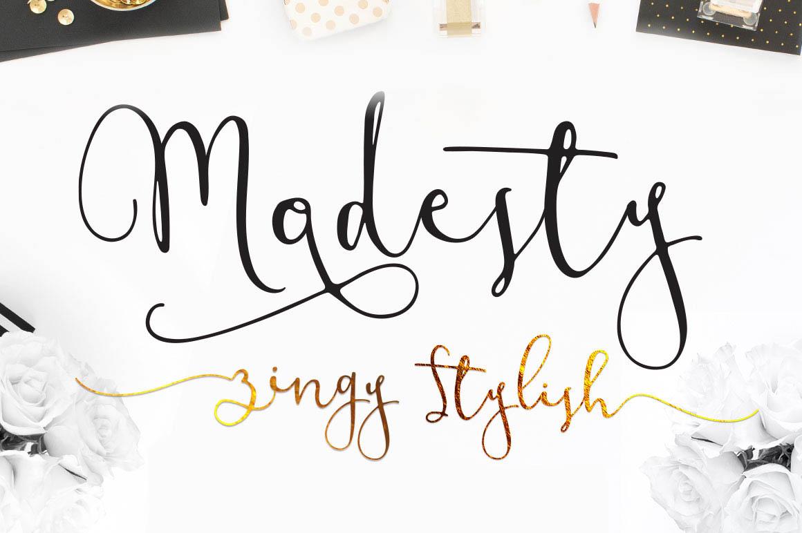 Modesty-Font