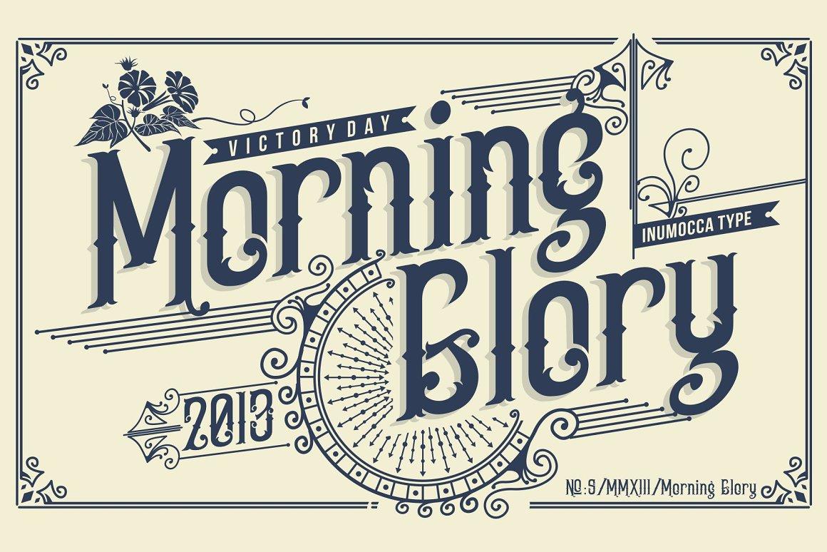 Morning-Glory-Font