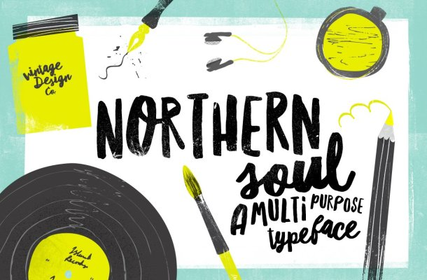 Northern Soul Typeface