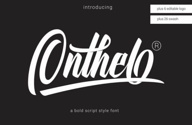 Onthel Bold Script Font