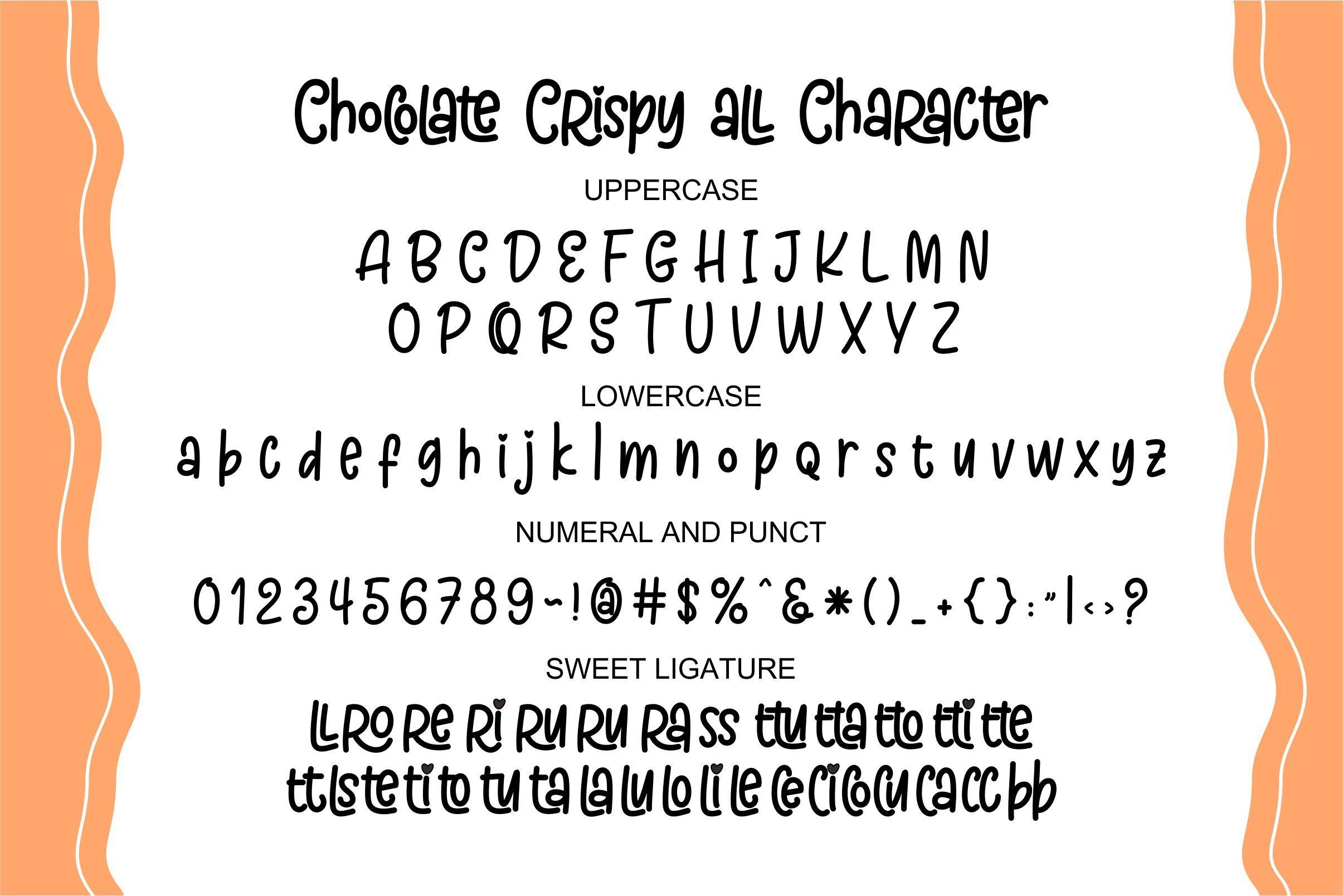 Chöcolate-Crispy-Font-3