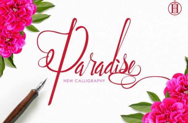 Paradise Script Font
