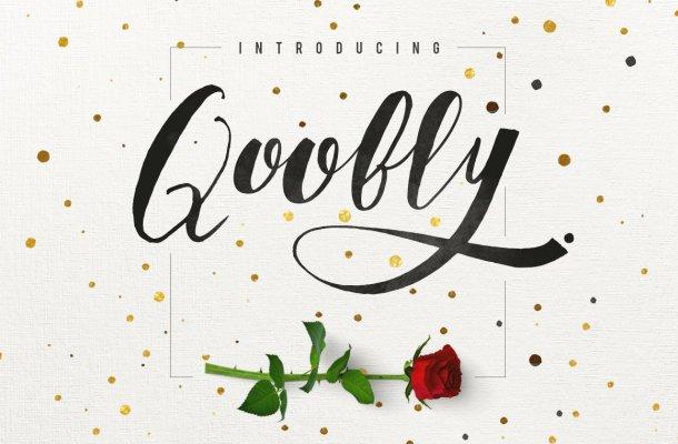 Qoobly Typeface Font