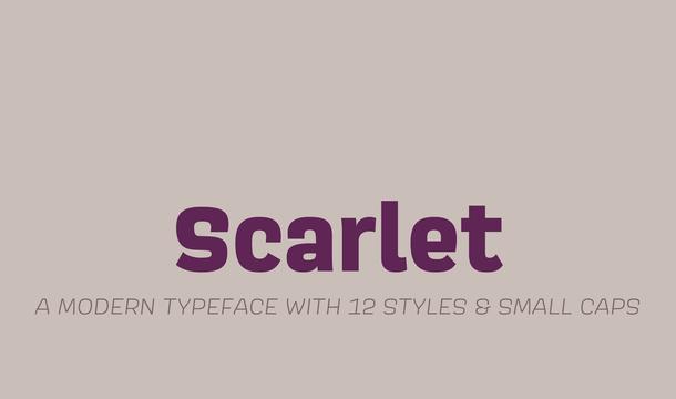 Scarlet Font Family
