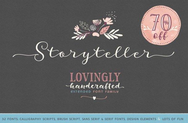 Storyteller Font Family