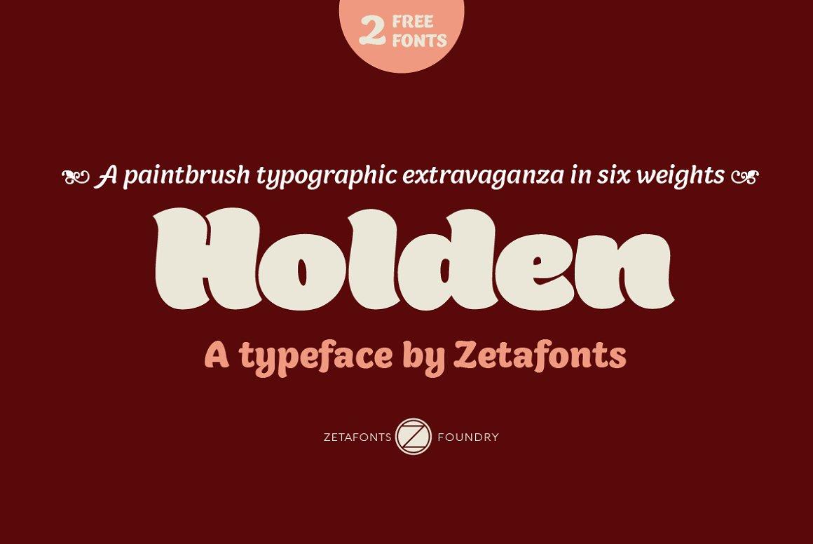 Holden-Font