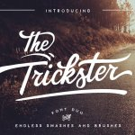 The Trickster Font Duo