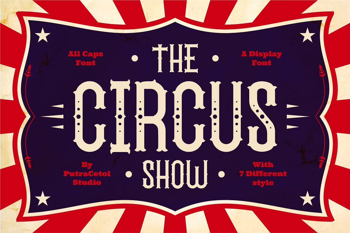 The-Circus-Show-Font