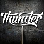 Thunder Script Font