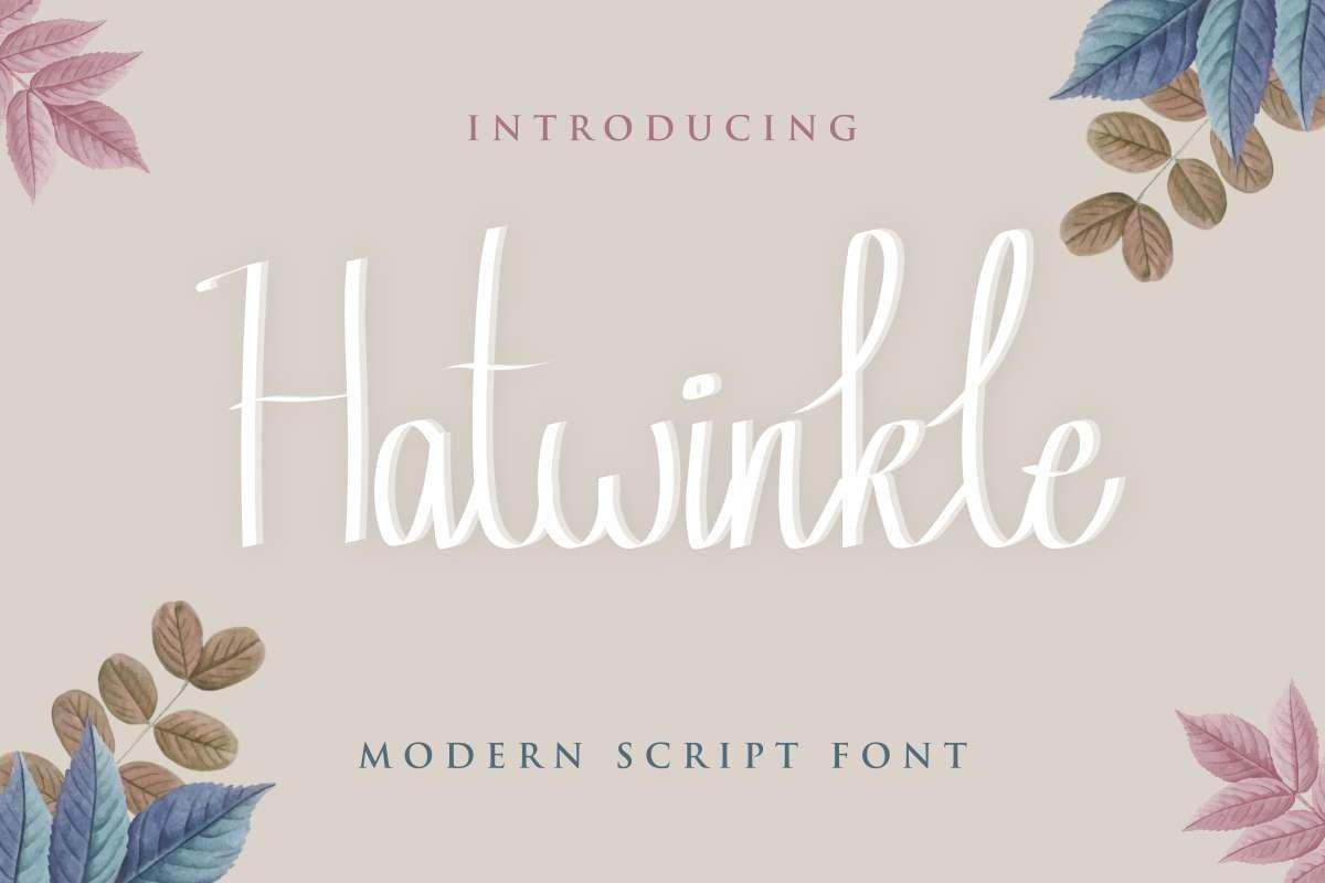 Hatwinkle-Font