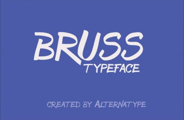 Bruss Typeface Font