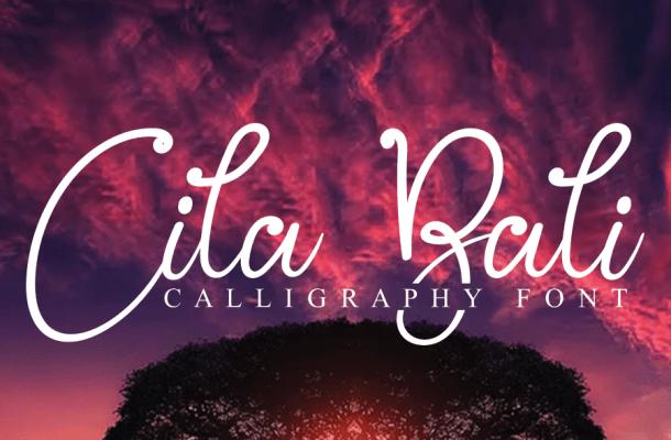 Cila Bali Script Font