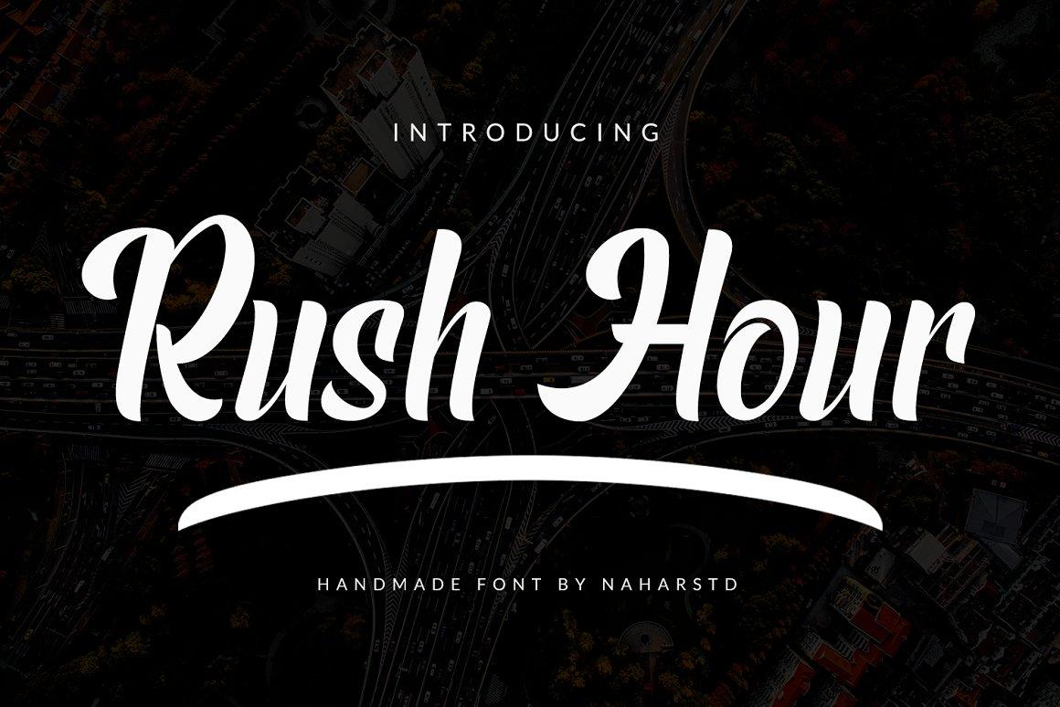 Rush-Hour-Font