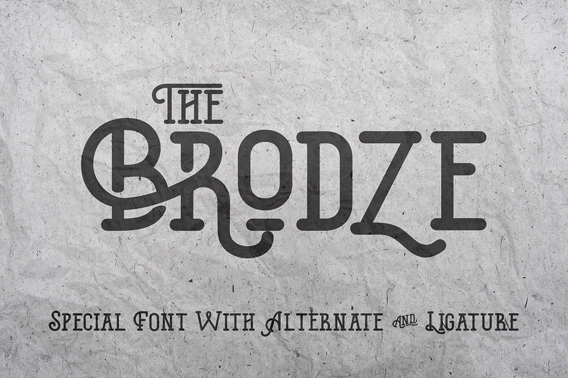 The-Brodze-Font