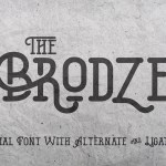 The Brodze Typeface
