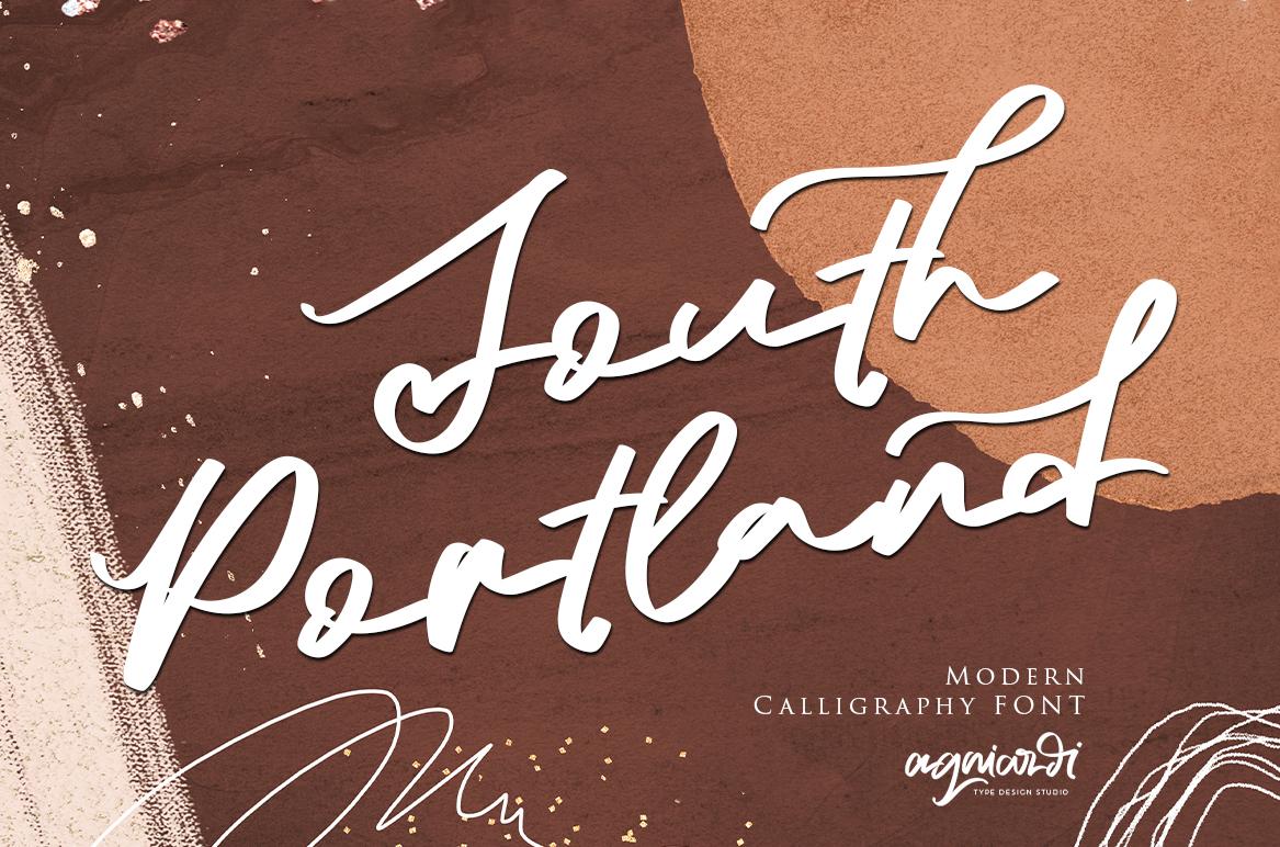 South-Portland-Font