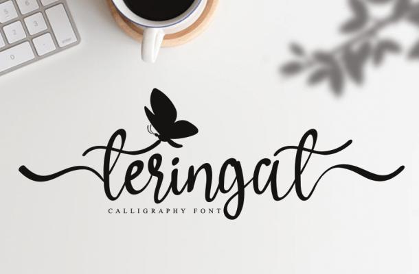 Teringat Script Font
