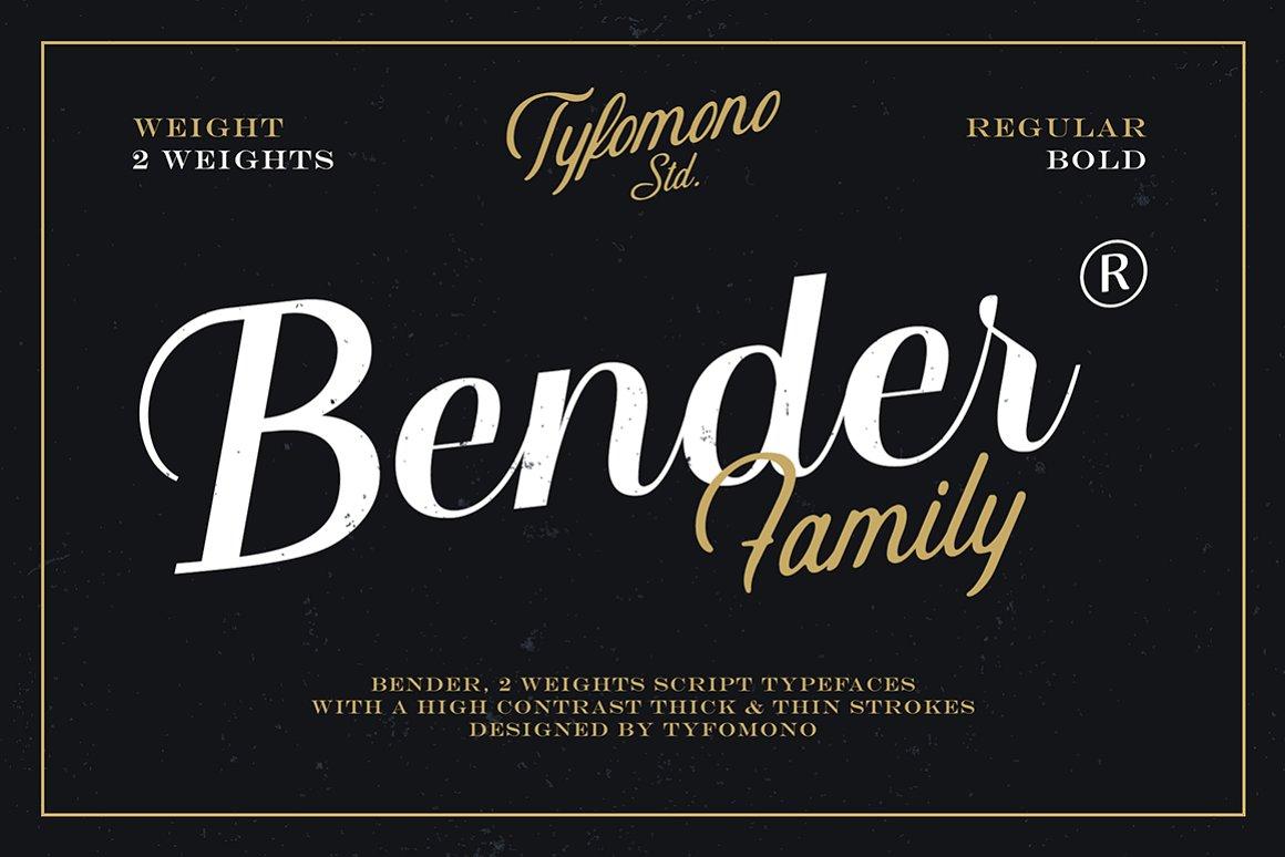 Bender-Font
