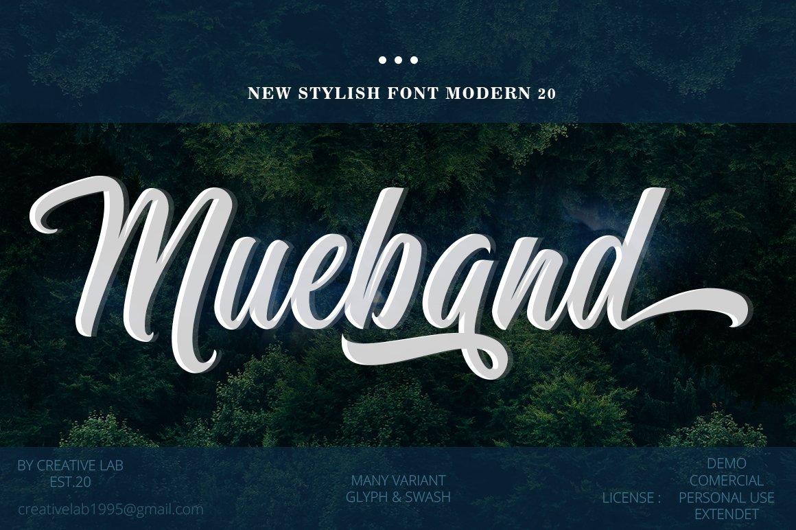 Mueband-Font