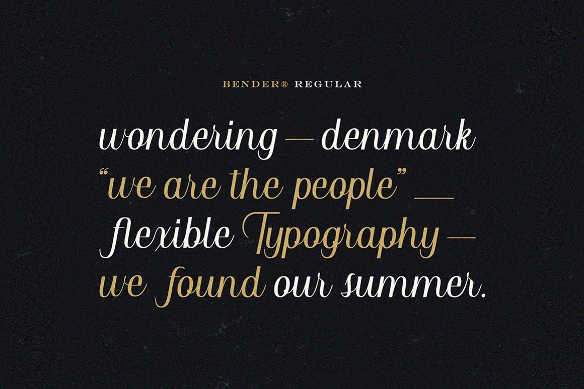 Bender-Font-2