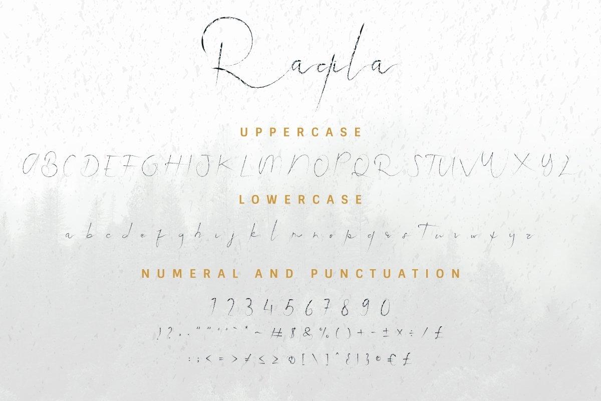Raqila-Rough-Font-3