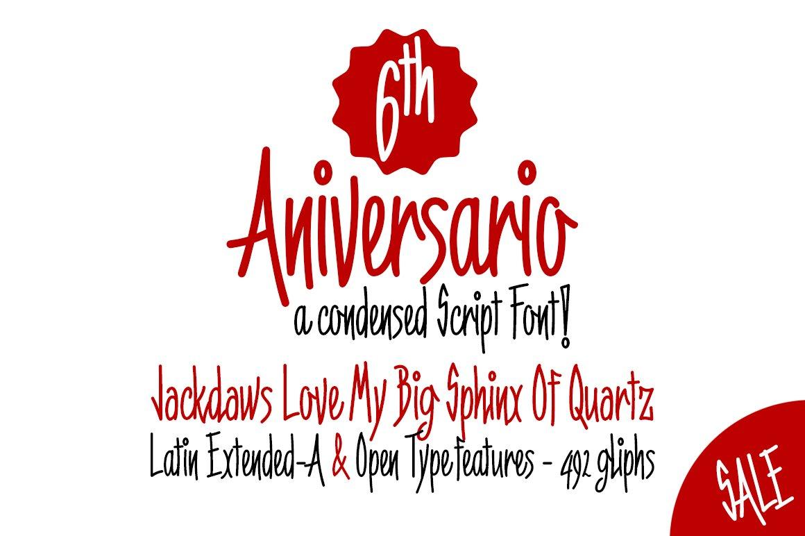 6th-Aniversario-Font