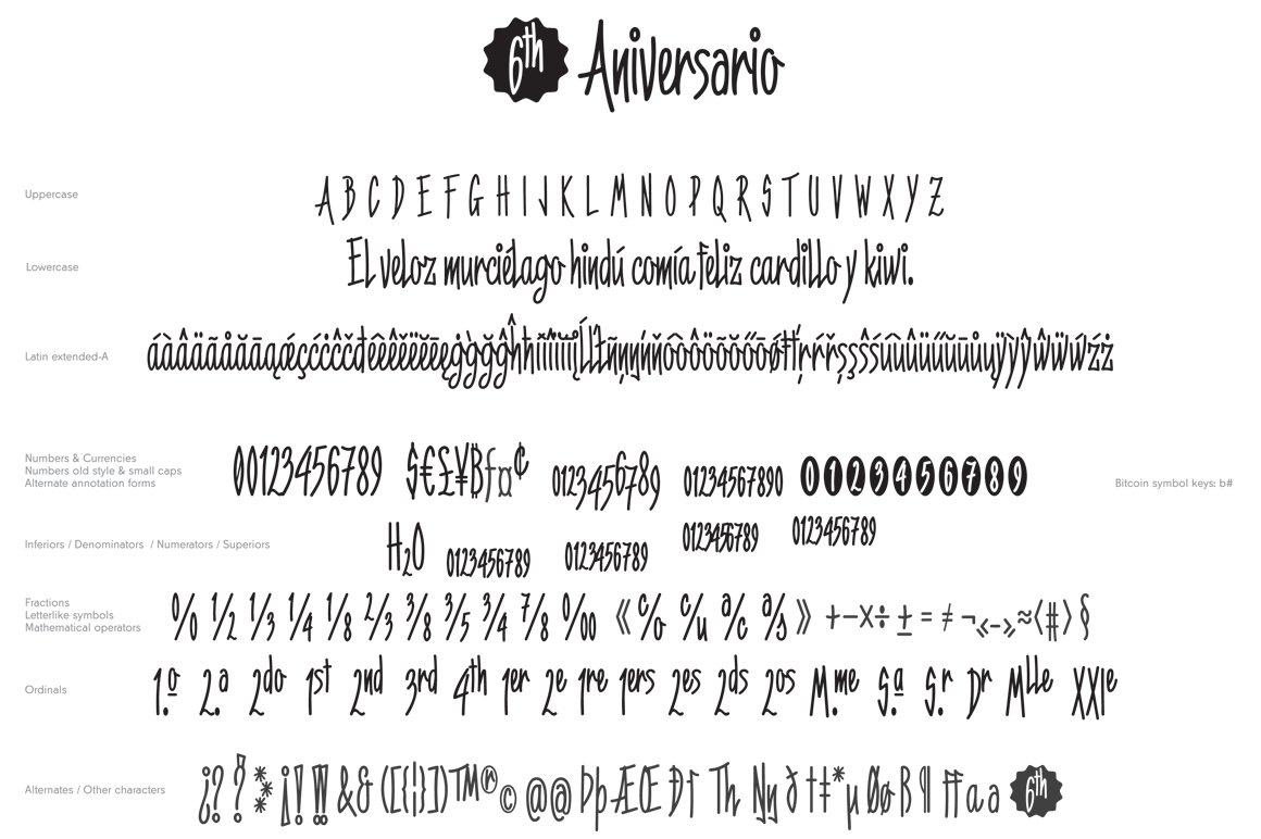 6th-Aniversario-Font-3