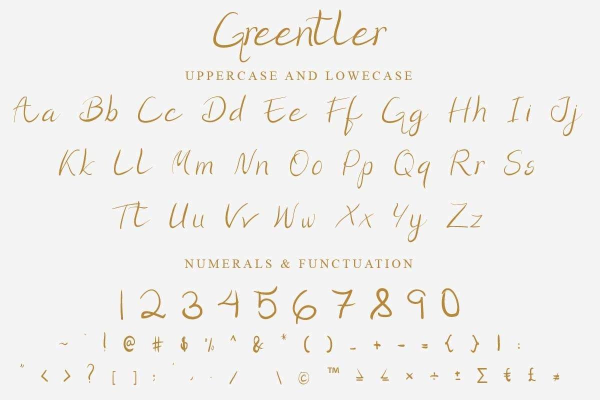 Greentler-Font-3