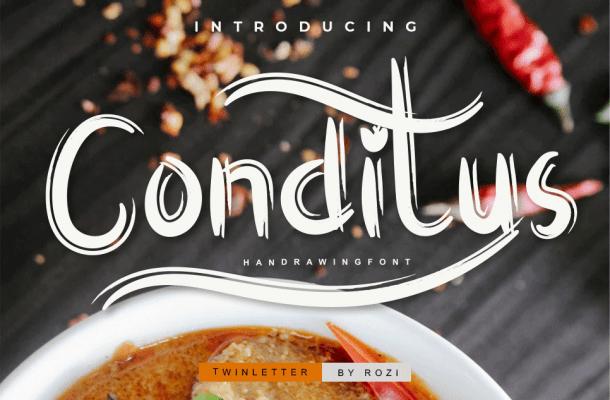 Conditus Script Font