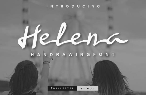Helena Handwritten Font