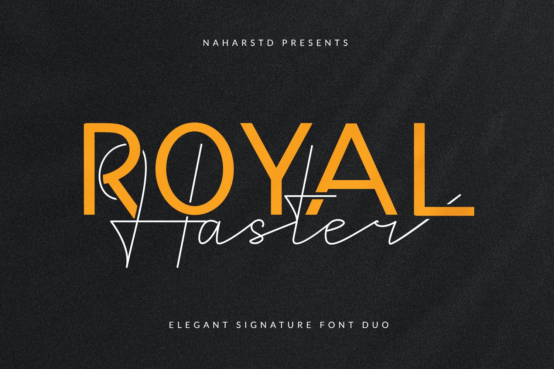 Royal-Haster-Font