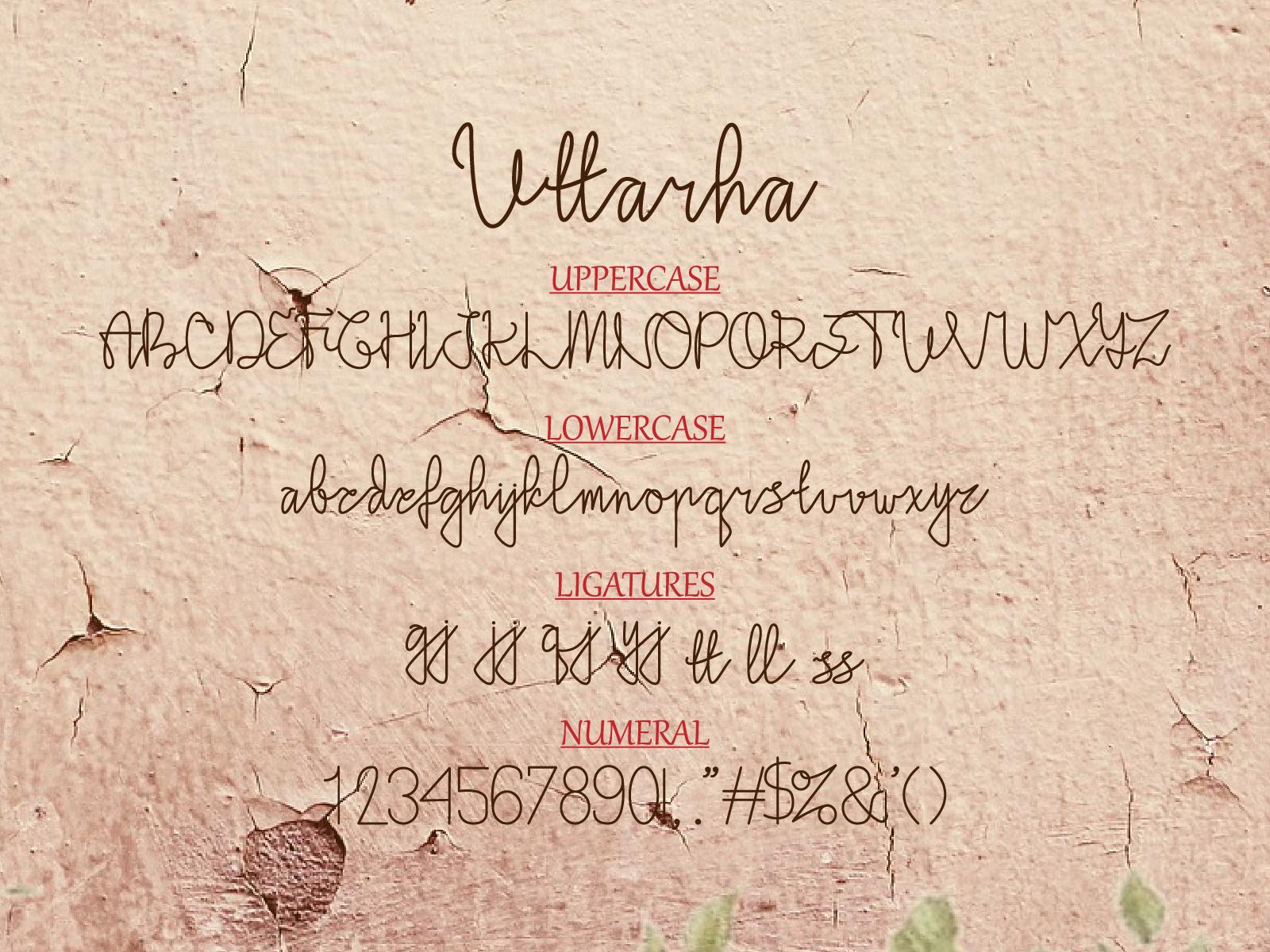 Uttarha-Font-3