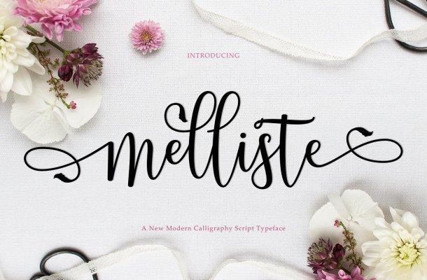 Melliste Script Font