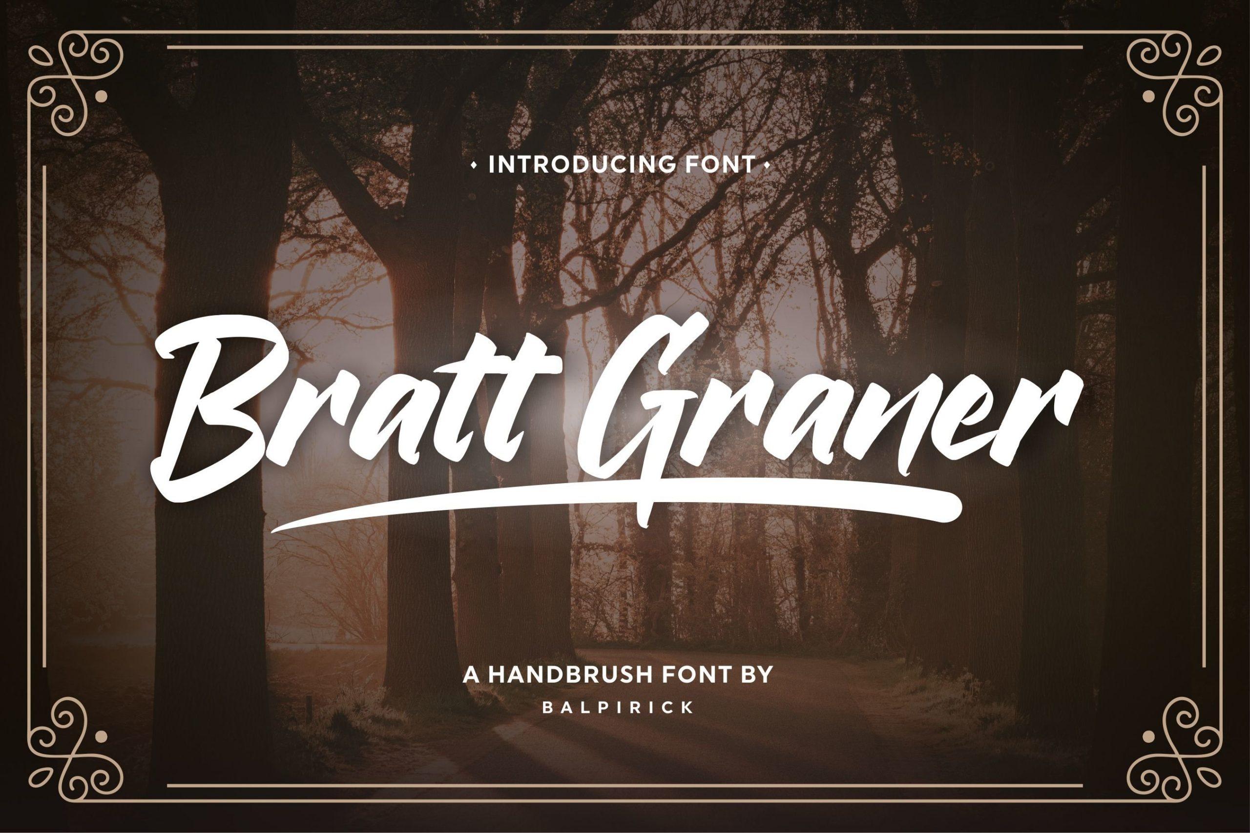 Bratt-Graner-Font