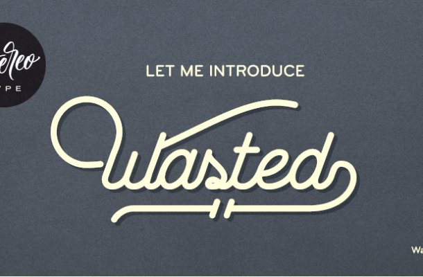 Wasted Font