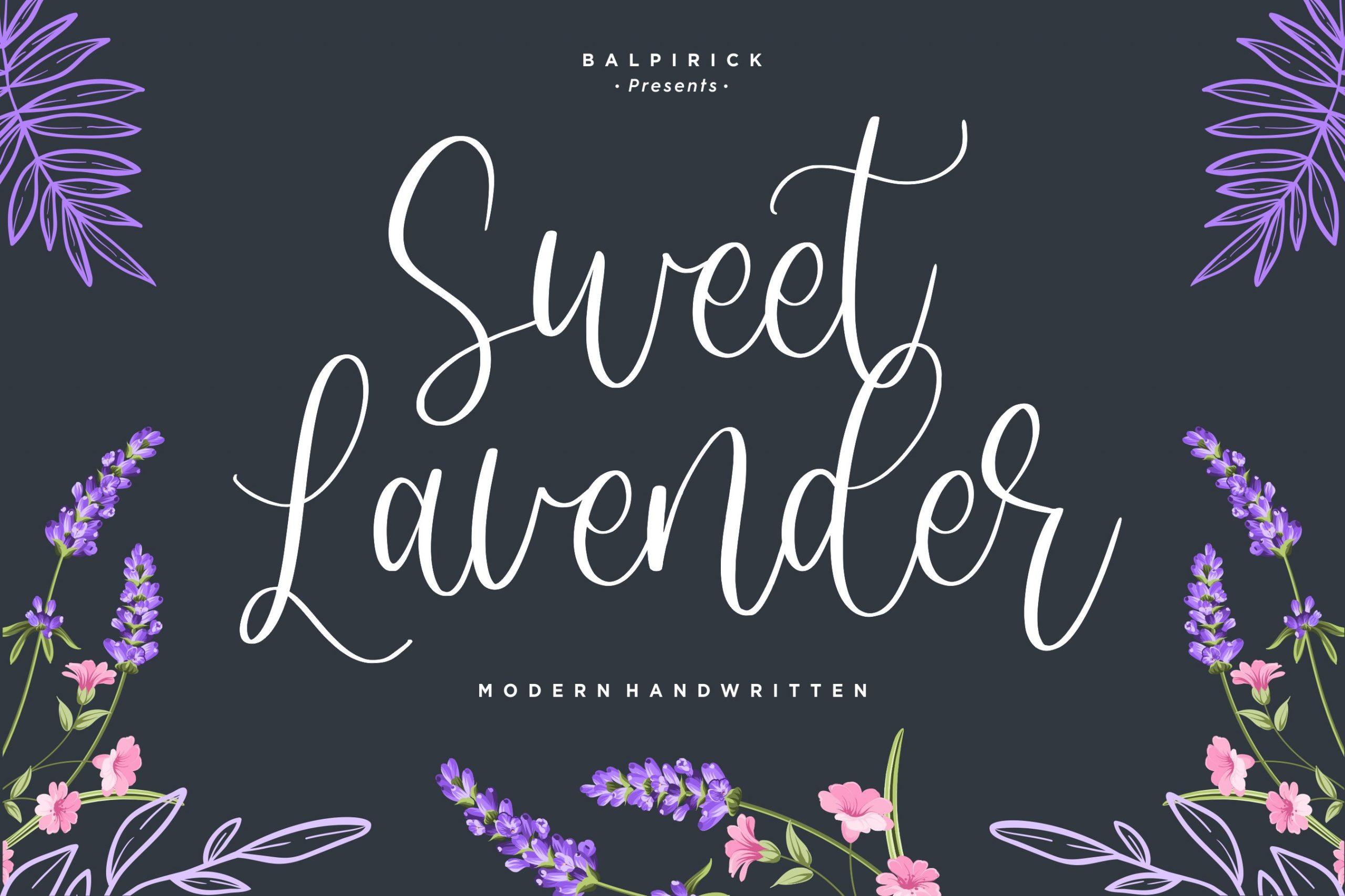 Sweet-Lavender-Font