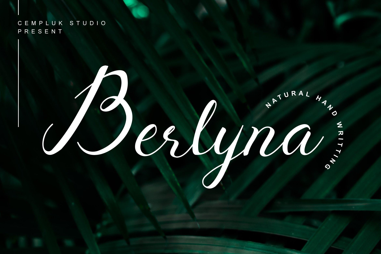 Berlyna-Font