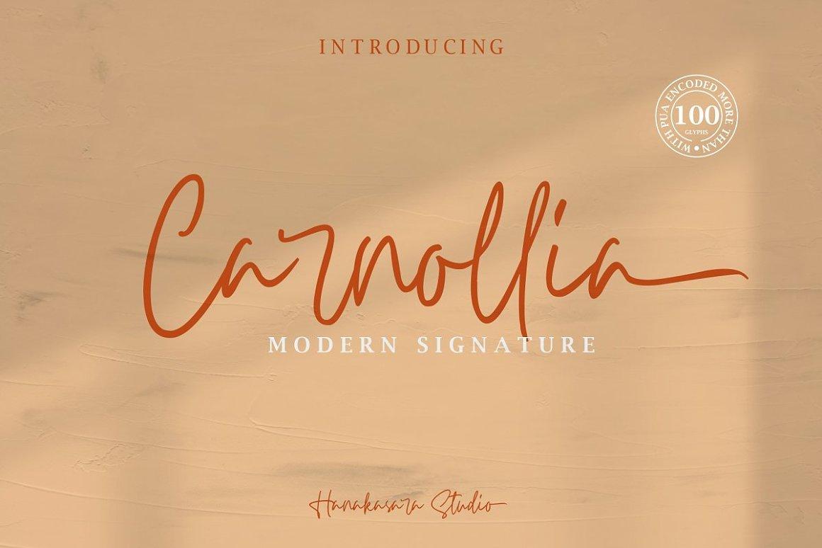 Carnollia-Font