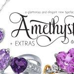 Amethyst Script Font