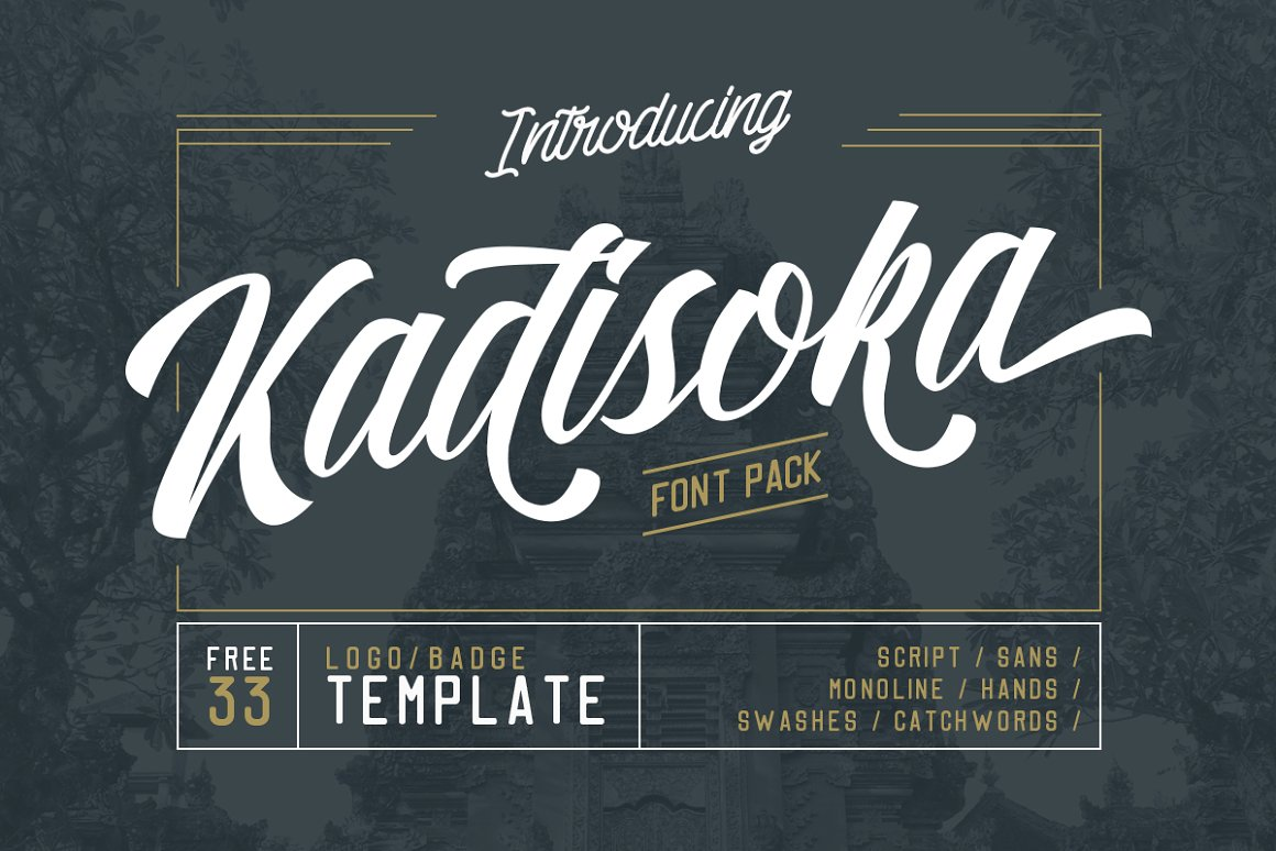 Kadisoka-Font