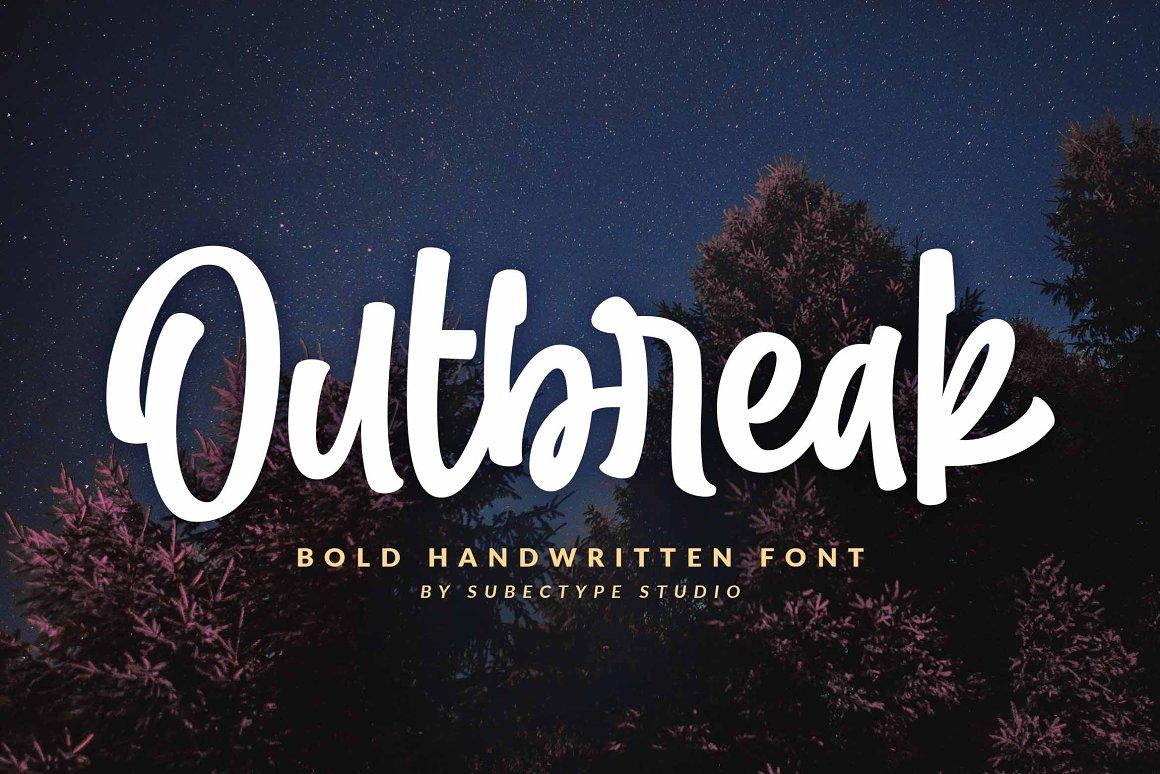 Outbreak-Font