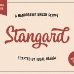 Stangard Script Font